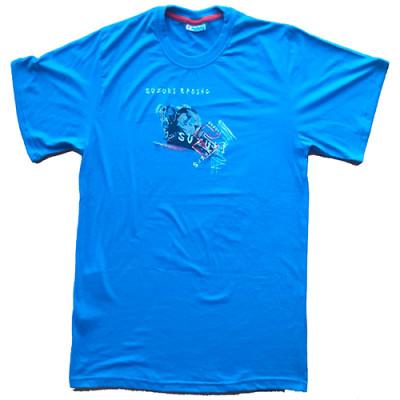T-shirt Suzuki Racer azul
